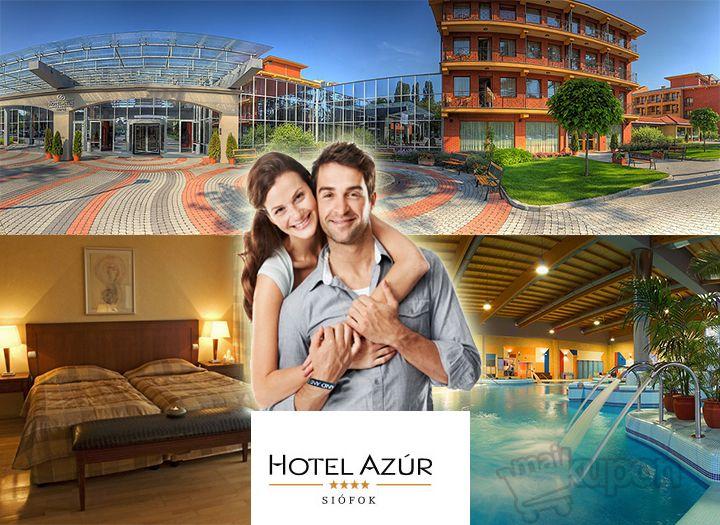 Hotel Azúr**** kupon
