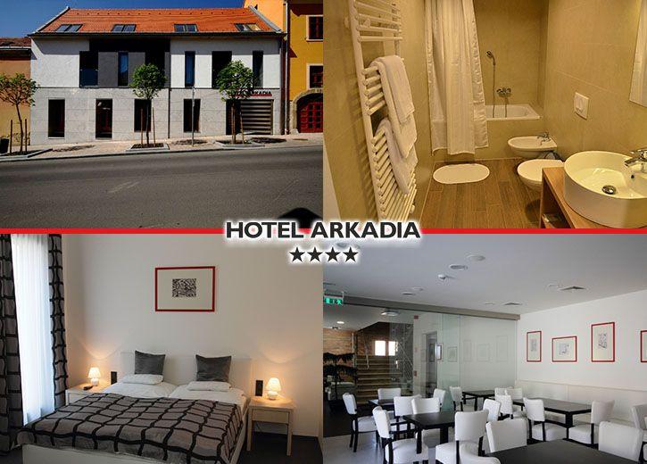 Hotel Arkadia**** Pécs kupon