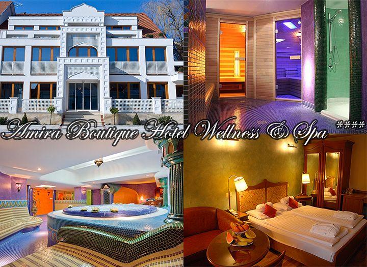 Amira Boutique Hotel Hévíz Wellness & Spa**** kupon